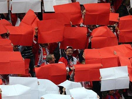 SEMIFINÁLOVÁ BITVA ZAČÍNÁ. A jak Slavia, tak Liberec mobilizují své fanoušky./Ilustrační foto