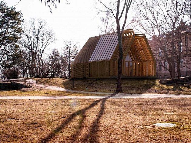 Návrh Jakuba Hoffmanna na Muzeum finské architektury.