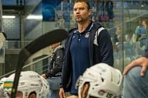 Martin Štrba ještě jako trenér Chomutova,