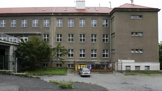 Budova Tanečního centra v ulici Pod Žvahovem.