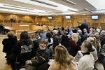 Spor o hidžábu u Obvodního soudu pro Prahu 10.