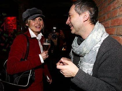 V roli Anny Kareniny se objeví vedle Lenky Vlasákové i Michaela Badinková (na snímku).