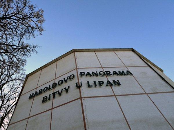 Areál Maroldova panorama Bitvy uLipan na Výstavišti vPraze 7.