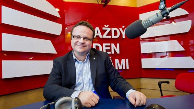 Generální ředitel Českého rozhlasu René Zavoral.
