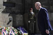 Pietní akce k uctění parašutistů, kteří v roce 1942 připravili a uskutečnili úspěšný útok na říšského protektora Reynharda Heydricha