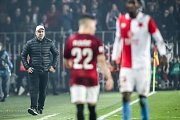 Zápas 14. kola FORTUNA:LIGY mezi Sparta Praha a Slavia Praha, hraný 4. listopadu v Praze. Kouč Jindřich Trpišovský.