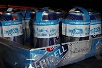 Preventivní projekt pro řidiče 'Řídím, piju nealko pivo'.