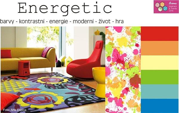 Speciální expozice Scéna: Inspirace & Trendy - skupina Energetic.