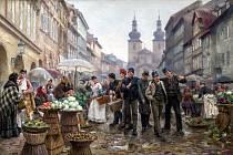 Zelný, nebo také zelený trh se nacházel ve spodní části Havelského tržiště. Kromě zeleniny se tu daly koupit květiny, jehličí, ale třeba i rohože.