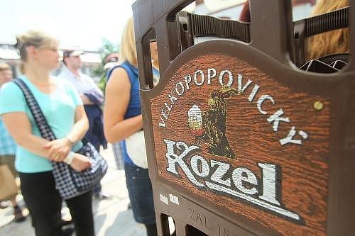 19. Den kozla v pivovaru ve Velkých Popovicích u Prahy.