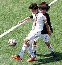 Z utkání Slavia - Juventus (2:0)