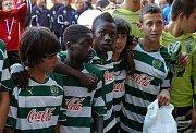 Portugalští mladíci se těší na pohár pro vítěze