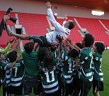 Vzduchem létal i trenér vítězného Sportingu