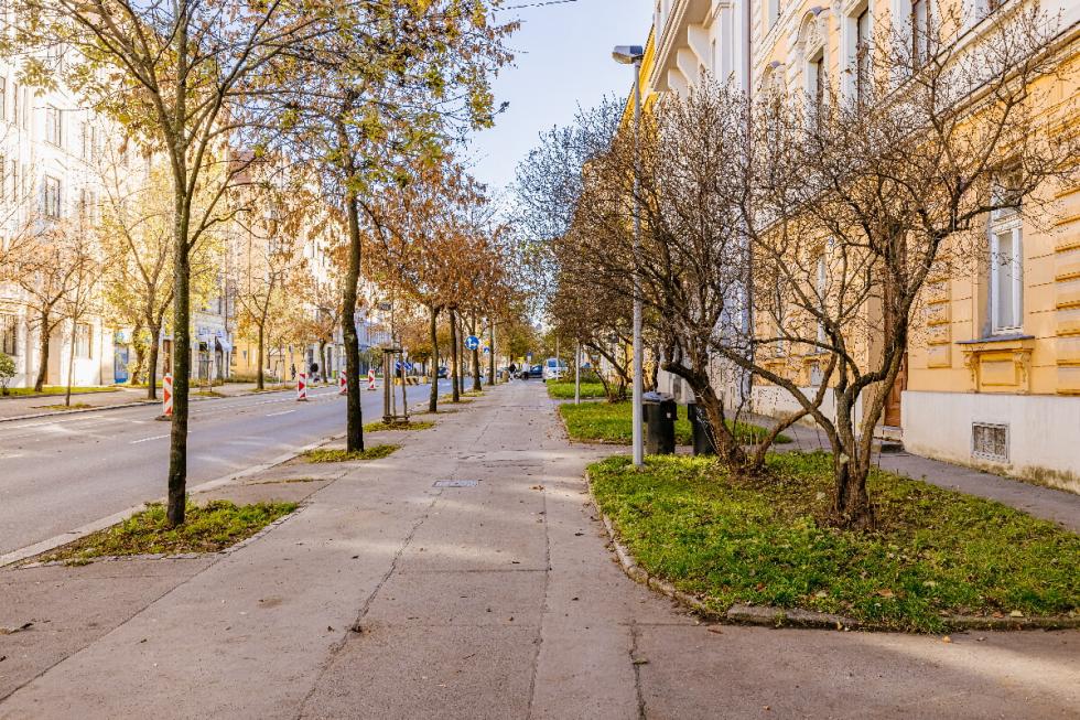 Korunovační ulice.