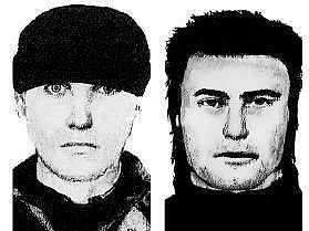 Pokud poznávate tyto muže, informujte policii na lince 158 či navštivte nejbližší policejní stanici.