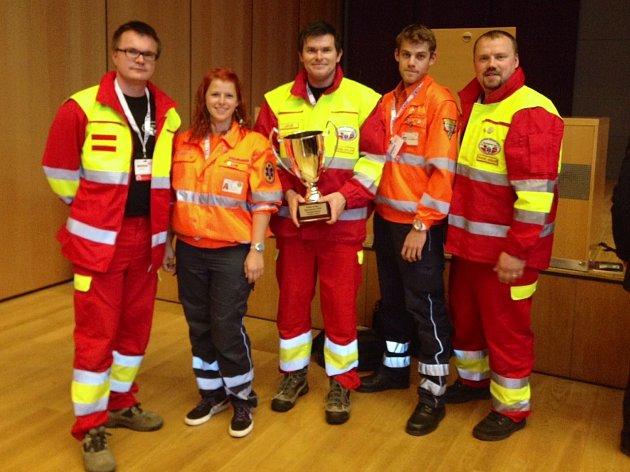 Čeští záchranáři jsou nejlepší v Evropě