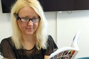 Redaktorka Veronika Cézová si zařízení sama vyzkoušela.