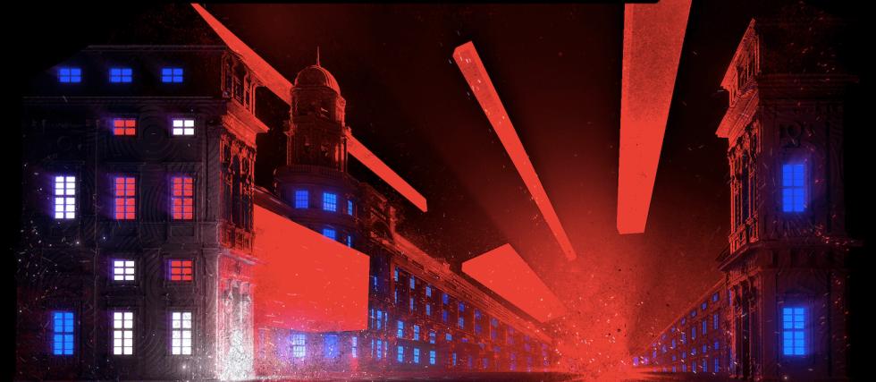 Vizualizace instalací pro Signal Festival 2019. Skilz - Tyršův dům-