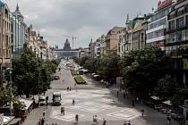 Václavské náměstí. Ilustrační foto.