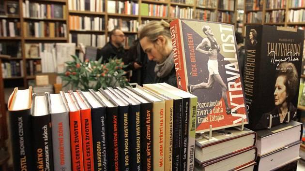 Knihkupectví. Ilustrační foto.