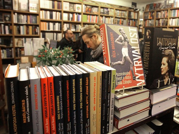 Knihkupectví Fišer možná znovu ožije. Ilustrační foto.