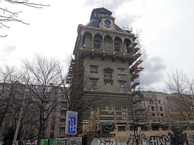 Letenská vodárenská věž.