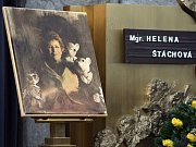 Poslední rozloučení s loutkoherečkou a ředitelkou Divadla Spejbla a Hurvínka Helenou Štáchovou.