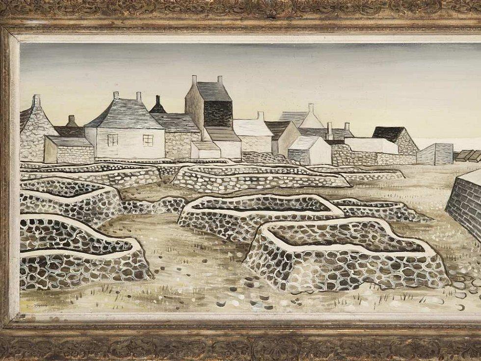 Jan Zrzavý: Pole na Ile de Sein II.