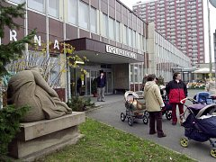 Poliklinika v Plaňanské ulici v Malešicích.