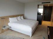 Hotelový pokoj. Ilustrační foto.