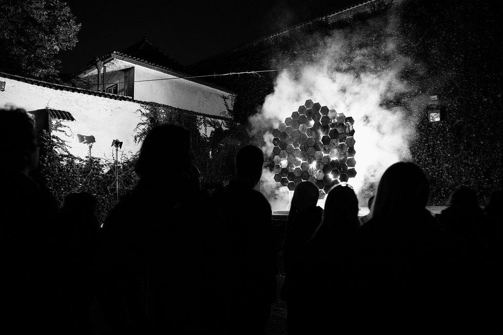 Signal Festival 2019. Anežský klášter.