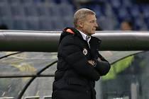 Trenér pražské Sparty Zdeněk Ščasný na fotbalovém stadionu Lazia Řím.