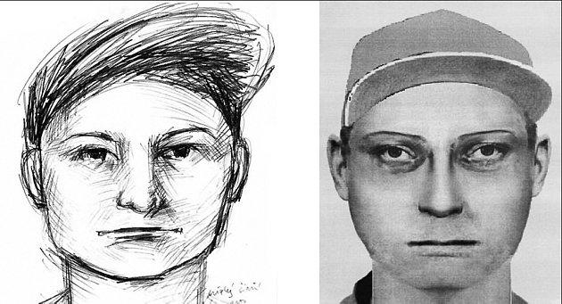 IDENTIKIT PACHATELE. Svědkyně zachytila přibližnou podobiznu muže, jenž se spolupachatelkou okradl bezmocnou důchodkyni.