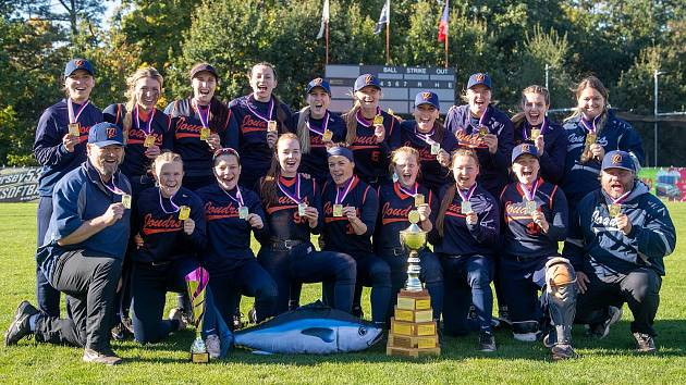 Softbalistky Joudrs vyhrály extraligové finále proti ostravským Arrows 3:0 na zápasy.