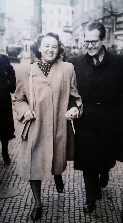 Manželé Květa a Rostislav Běhalovi.