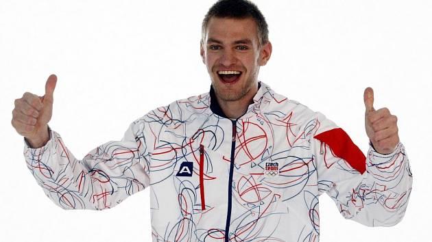 Český reprezentační skifař Ondřej Synek.
