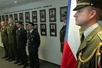 Vyhlášení rozkazů ministra obrany k udělení medailí Za službu v zahraničí.