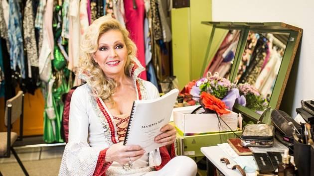 Zpěvačka Helena Vondráčková zazářila jako Donna v muzikálovém hitu Mamma Mia!