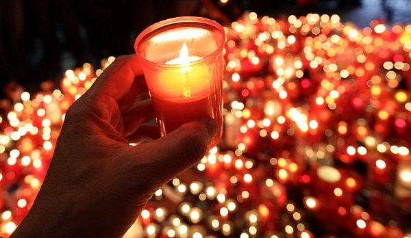 Výročí Sametové revoluce vPraze 17.listopadu.
