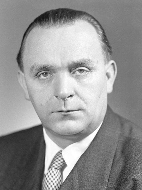 Politik a fyzik František Kahuda.