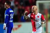 Miroslav Stoch se udržuje v kondici s týmem pražského Motorletu.