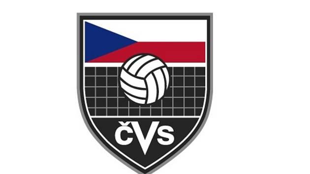 Logo Volejbalového svazu.