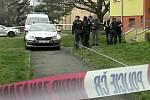 Policie vyšetřuje vraždu v pražském Hloubětíně.