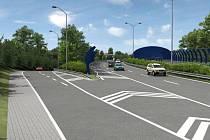 Vizualizace městského okruhu - Štěrboholská radiála