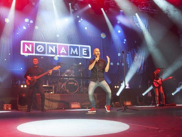 Koncert kapely No Name v Praze.