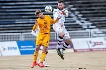 Utkání 17.kola první fotbalové ligy: FC Hradec Králové– Dukla Praha, 19.února vHradci Králové.