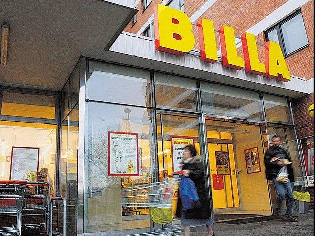 PROMĚNA. Dnes se začaly všechny pražské Delvity měnit na supermarketyBilla. Příští týden mají premiéru.