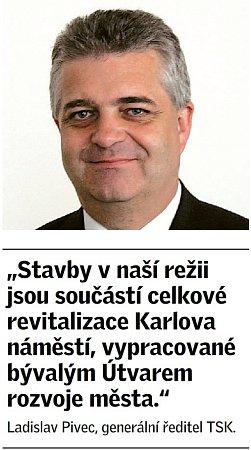 Citát Ladislava Pivce, generálního ředitele TSK.