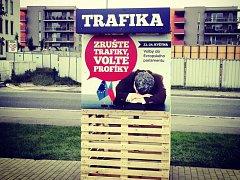Kampaň hnutí ANO 2011 do voleb do Evropského parlamentu.