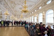 Prohlídka reprezentačních prostor Pražského hradu.